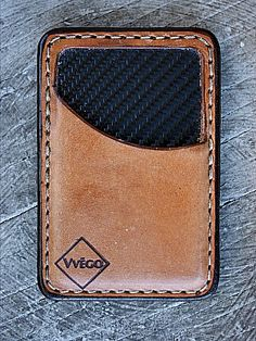 Vvego's slim and sexy Vvault is the perfect front pocket wallet. Three leather colors, and a great selection of lining colors -- This cool wallet is unique!