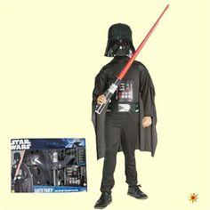 Kostüm Star Wars Darth Vader Boxet, Gr. M Karneval, Fasching Kinder-Kostüme