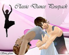 Sims 4 Updates: Sims Fans - Poses : Couple Classic Dance Posepack by Sim4fun, Custom Content Download!