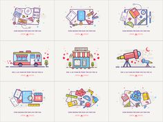 Best Nine by luking #Design Popular #Dribbble #shots