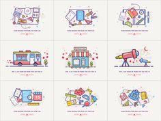 Best Nine by luking #Design Popular #Dribbble #shots