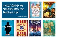 A seriously great list of fantasy and adventure books for tweens and young adults that you'll want to read too.