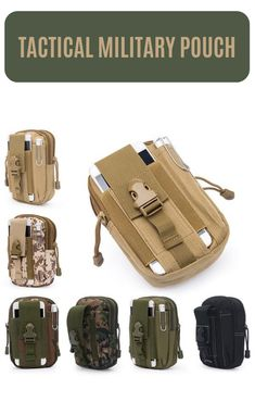 the best Men Waist Pack Bum Bag Pouch Waterproof Military Belt Waist Packs Molle Nylon Mobile Phone Wallet Travel Bag Cell Phone Pouch, Phone Wallet, Tactical Holster, Fishing Tackle Bags, Military Belt, Molle Pouches, Bags 2017, Waterproof Backpack, Bum Bag
