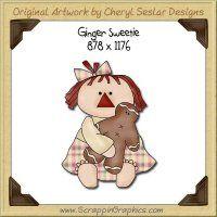 Ginger Sweetie Single Graphics Clip Art Download