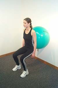 Love to use physio balls on appropriate geriatric patients for balance training and core strength.