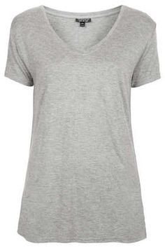 Viscose V Tee - T-Shirts - Tops  - Clothing