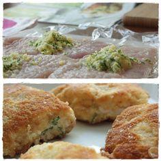 Kievin kana Baked Potato, Potatoes, Koti, Chicken, Meat, Baking, Ethnic Recipes, Potato, Bakken