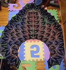 Ravelry: Gala Shawl pattern by Cheri McEwen