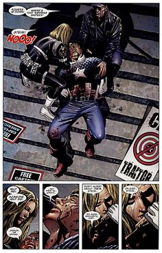 Fallen Son: The Death of Captain America << except those deaths never stick. But it still emotionally destroyed me