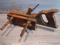 Lote antiguas herramientas de carpintero en total 15 - Cepillo de carpintero ...