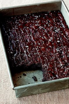 Ina Garten's Salted Caramel Brownies