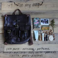 """Post image for What's Inside Our """"Going Out"""" Bags What In My Bag, What's In Your Bag, What's In My Purse, Coin Purse, Free People Blog, You Bag, Other Accessories, My Bags, Travel Bags"""