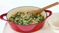 Get Risotto with Bacon and Kale Recipe from Food Network