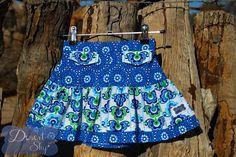 Handmade by Kylie Morton @ Desert Sky Size 4 Flip Skirt