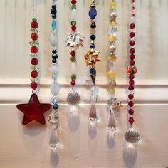 Holiday Suncatchers, Rear View Mirror Decorations, Ornaments, Christmas,  Hanukkah, New Years