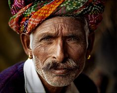 By Alberto Mateo - Travel Photographer. Rajastani musician, Pushkar Camel Fair, India.