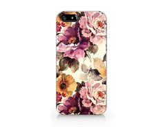 TMC023Floral iPhone 5 Case / Floral iPhone 5S by Trendmastershop, $1.99