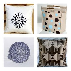 home from india products - love the B pillow