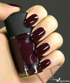 nail art, nailpolish, MAC, mac, nails, bordo, red, wine, color