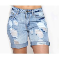 KEEP IT CUTE BERMUDA SHORTS ❤ liked on Polyvore featuring shorts and bermuda shorts