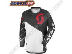 350 Race Jersey black/white MX Shirt
