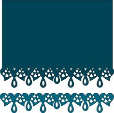 FREE SVG from pennyduncancreations LOTS OF BORDERS PDC Tear Drop border 7-17-2012.svg - Box