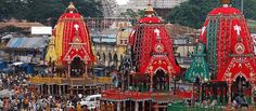 Most of the festivals of Lord Jagannath are unique and divine; one of them is 'Ratha Yatra' (Car Festival).