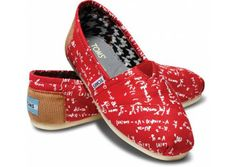 Calculus 101 TOMS. Adorable! If only they had an architecture version of this...