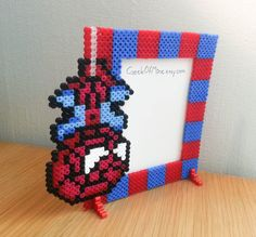 Spider-Man Photo frame bead sprite by GeekofMine on Etsy