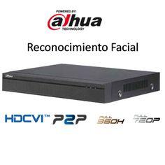 Grabador HDCVI de 4 canales y reconocimiento de rostro