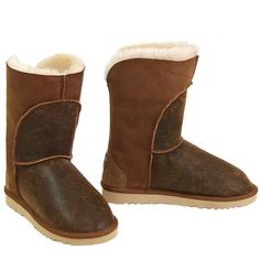 Crescent Ugg Boots Chestnut : Ugg Boots Made in Australia