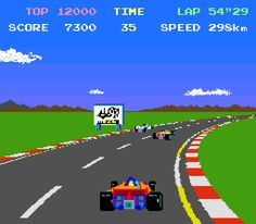 80s Arcade Game - Pole Position