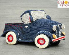 Pattern Beetle car amigurumi. By Caloca Crochet by CalocaCrochet