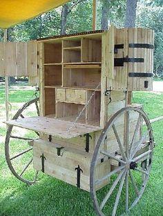 A Patrol or Troop camping box.