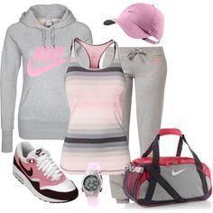 """""""Nike Sport Style"""" by majalena79 on Polyvore"""