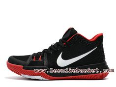 check out ac626 b1996 Nike Kyrie 3 ID 852395 I010 Noir Rouge Chaussures NIke prix Pour Homme Noir  Nike Kyrie