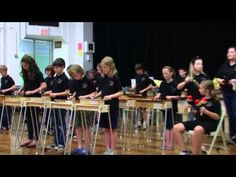 Oye Como Va Mallet Madness- I would LOVE to do this with my 5th graders. If only we had more instruments UGH