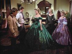North and South Worth Gown 6 Sissi, North And South, Civil War Movies, Peach Gown, Southern Belle Dress, Old Fashion Dresses, Saloon Girls, Civil War Dress, Victorian Costume