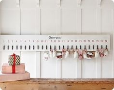 The cutest countdowns - could easily make this one!