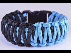 "DIY Make the ""Split Decision"" Paracord Survival Bracelet - BoredParacord - YouTube"