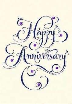 Happy Wedding Anniversary Wishes, Anniversary Message, Anniversary Greetings, Happy Birthday Wishes, Anniversary Parties, Happy Birthdays, Anniversary Funny, Birthday Greetings, Happy Anniversary Lettering
