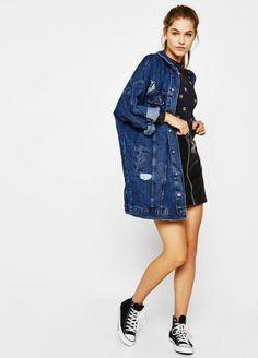 Bershka Body, Denim, Jackets, Closet, Style, Fashion, Outfits, Down Jackets, Swag