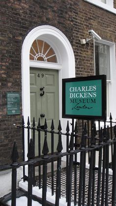 The Charles Dickens Museum, Doughty Street London.  July 2002