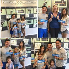 @naik.saelee and her family have laid claim to their new #foreverhome! Have you? #MainVueHomes #Congrats