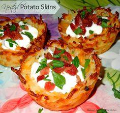 Nested Potato Skins [Potato Skin Nests]