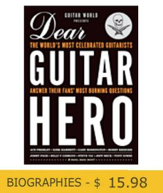 Straight from one of Guitar World Magazine's most popular sections this book features the answers you want to know when readers have the opportunity to ask their Guitar Heroes a question. The players that were interviewed are the cream of the crop including: Jimmy Page, Eddie Van Halen, Ace Frehley, Billy Gibbons, Steve Vai, Joe Satriani, Paul Gilbert, Dave Grohl, Jerry Cantrell, and Warren Haynes. $15.98