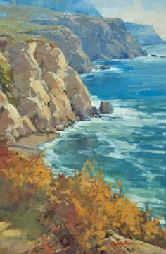 """Cindy Baron""""Southbound""""  Oil on Linen 12"""" x 8"""""""