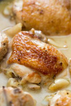 ideas about 40 Clove Garlic Chicken Garlic
