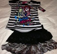 Monster High Outfit Girls Clothing
