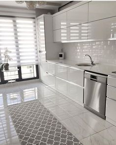 😀😀😀 Siz nasıl buldunuz 😍 Yorumlarınızı ve& - cuisine décoration cuisine 2020 décoration cuisine ikea küche dekoration ideen küchendekoration küchendekoration bilder küchendekoration fenster Kitchen Room Design, Kitchen Cabinet Colors, Modern Kitchen Design, Home Decor Kitchen, Interior Design Kitchen, Modern Kitchens, Contemporary Kitchens, Interior Modern, Modern Contemporary